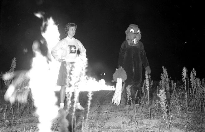 Freshman Bonfire, 1962.