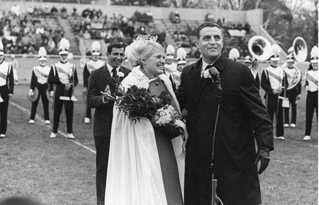 U.S. Sen. Walter Mondale and Homecoming Queen in 1968.