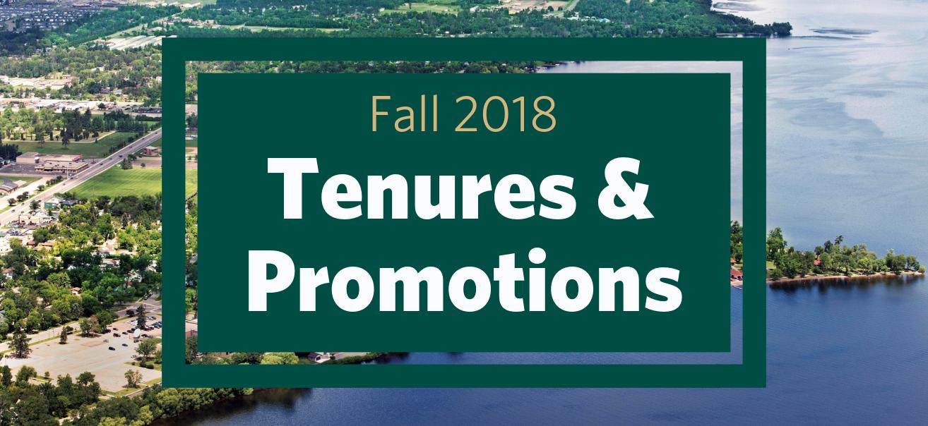 Bemidji State Tenures & Promotions