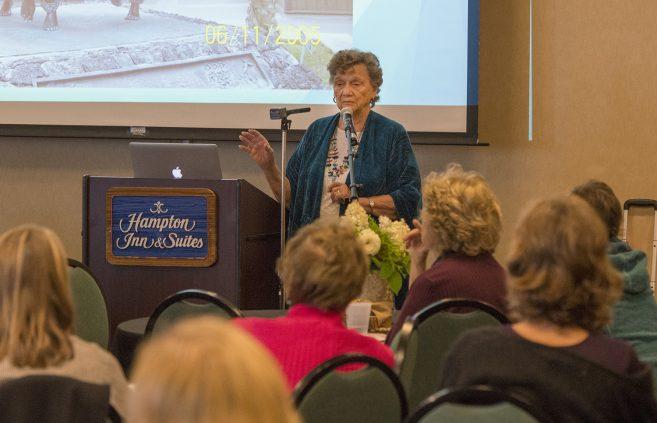 Keynote speaker, Dr. Helen Erickson presents at international conference in Bemidji.