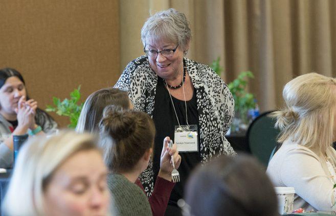 Dr. Jeanine McDermott, Bemidji State associate professor of nursing.