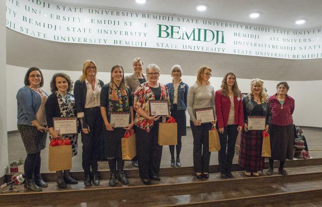 Bemidji Women United Tribute Award recipients and board.