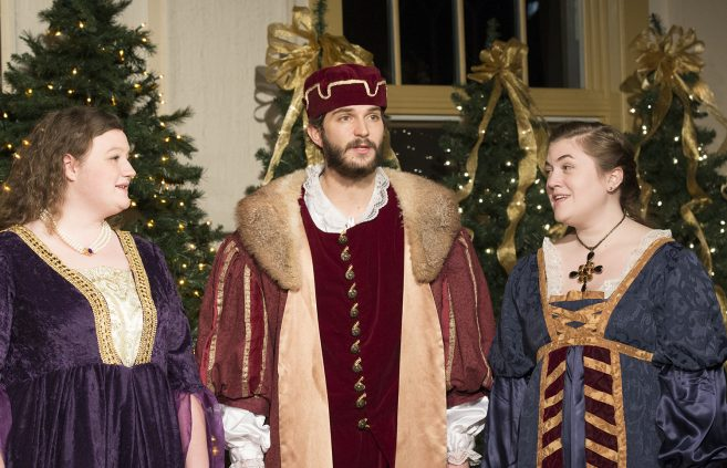 50th Annual Madrigal Dinner chamber singers