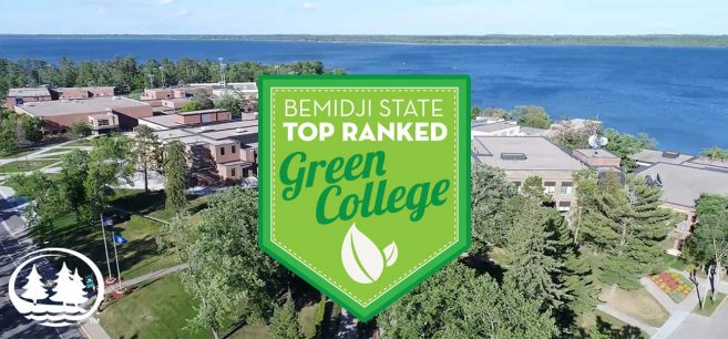 BSU Featured as Green College