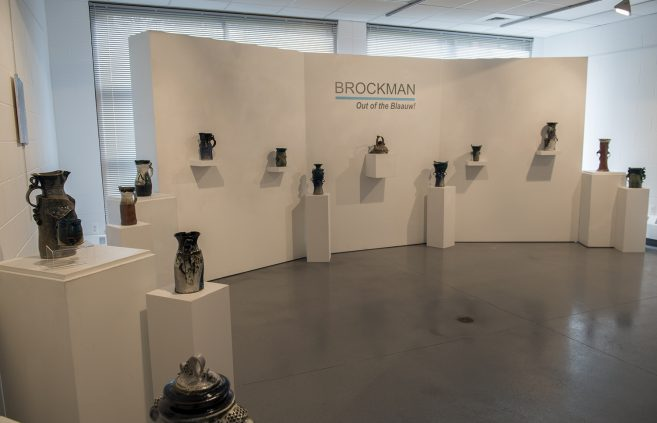 Brockman's Out of the Blaauw gallery in Gallery X.