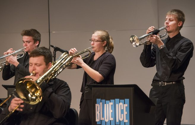 Blue Ice Jazz Band, trumpet