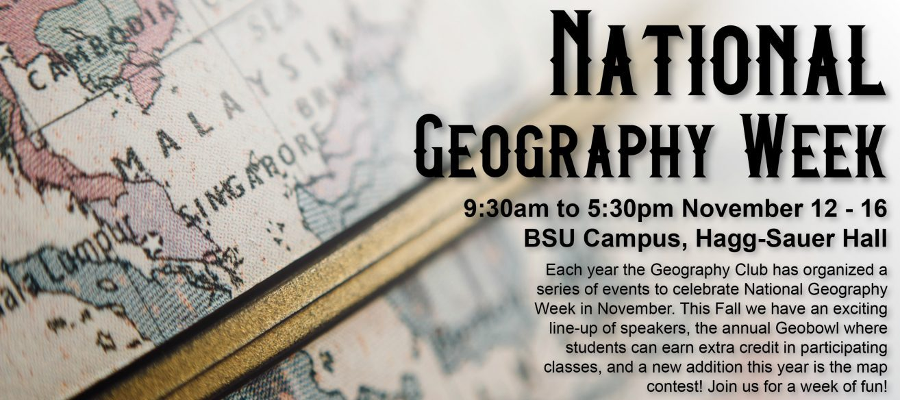 Bemidji State\'s Geography Club Presents National Geography Week of ...