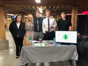 Highlight 100 student developers- Madonna Lossing, Riley Borgen, Owen Anderson, Bailey Nordeen, and Grant Bushinski