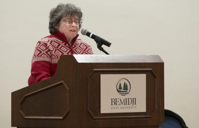 Community member Becky Lueben.