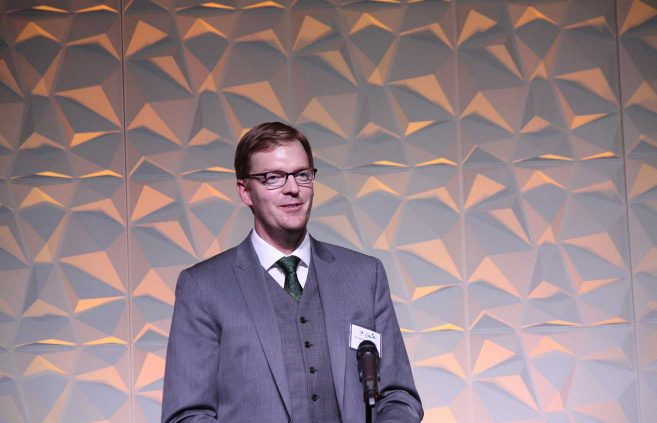 Dr. Nick Phelps '05 – Young Alumni Award.