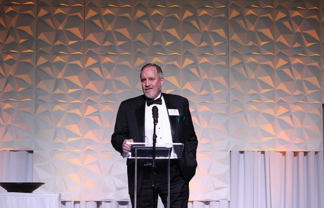 Patrick Pelstring '76 – Outstanding Alumni Award.