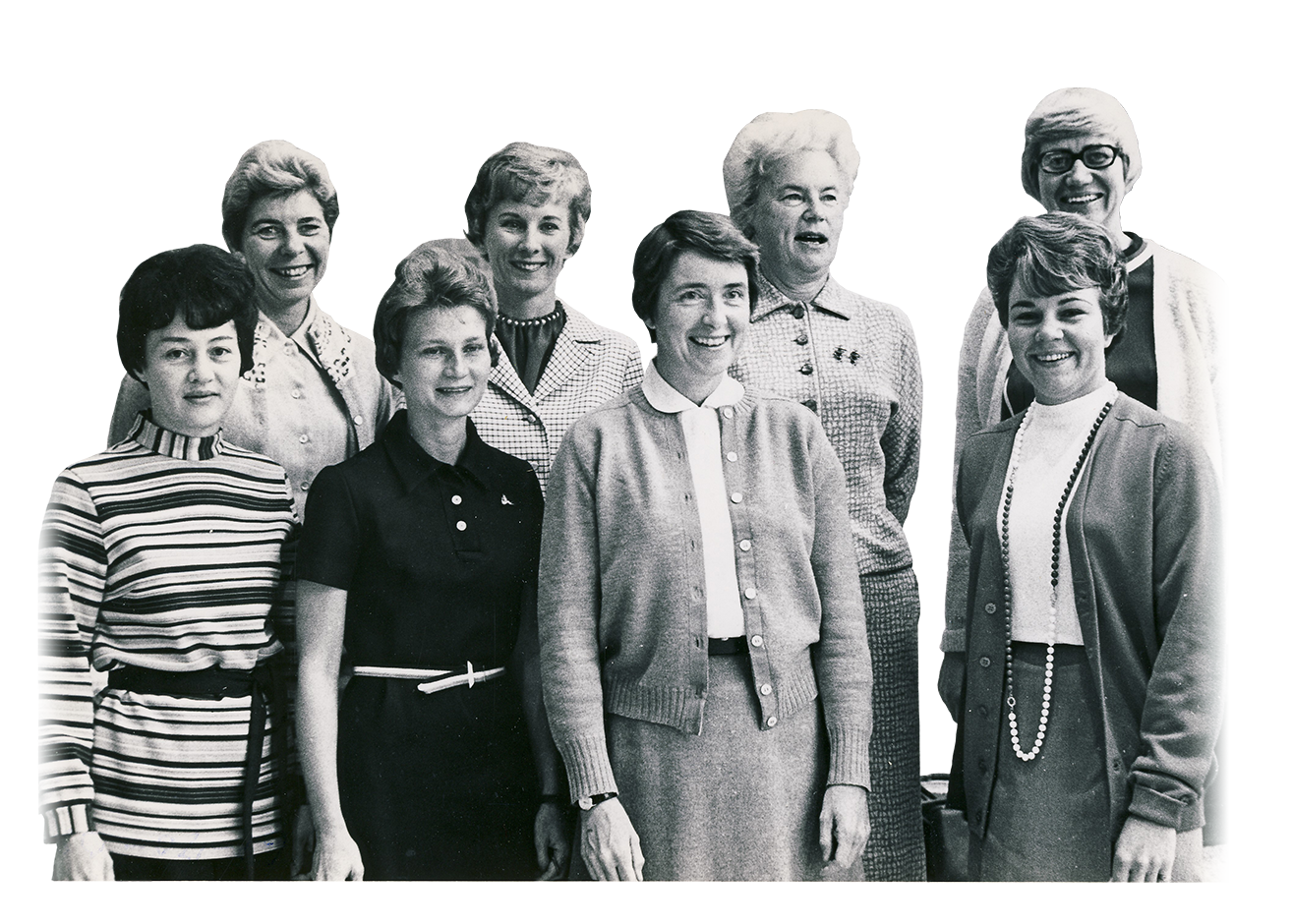 Founders of Bemidji State women's athletics