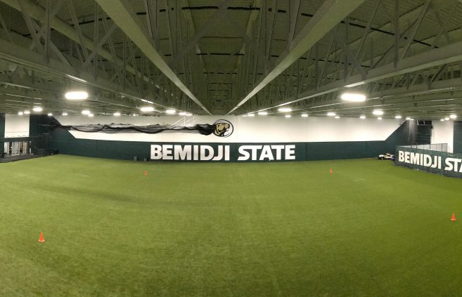 The newly renovated Frederick Baker training center.