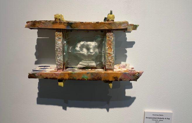 """Encapsulated Butterfly & Dog"" by Kosmas Ballis."