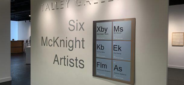 """Six McKnight Artists"" gallery."