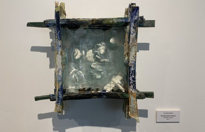 """Encapsulated Insects"" by Kosmas Ballis."