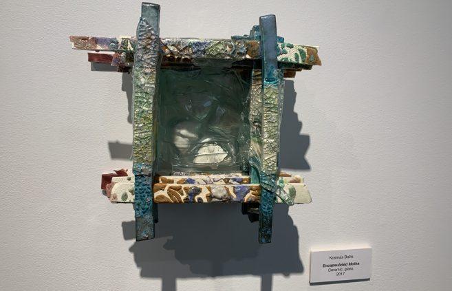 """Encapsulated Moths"" by Kosmas Ballis."