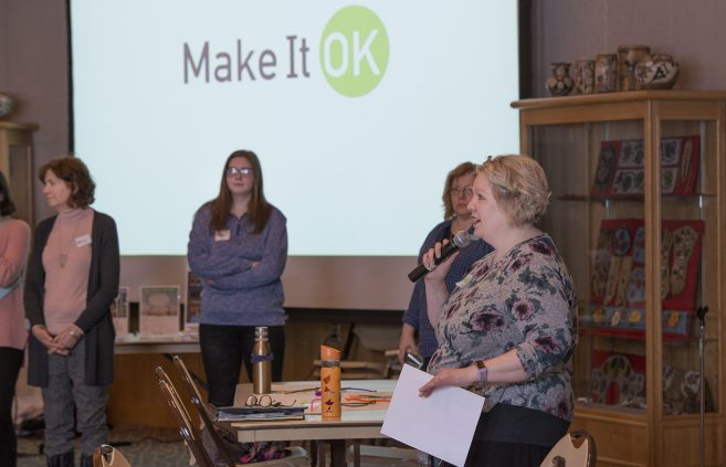 Make It Ok to talk about mental illness campus discussion