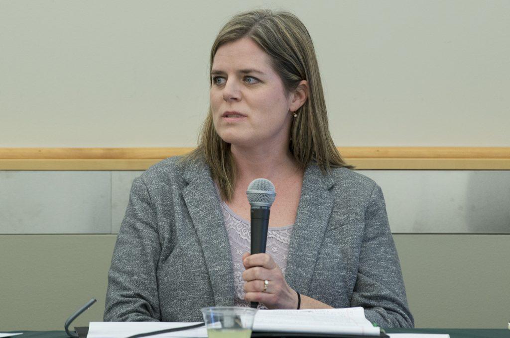 Dr. Tiffany Holmes, professor of nursing at Bemidji State University