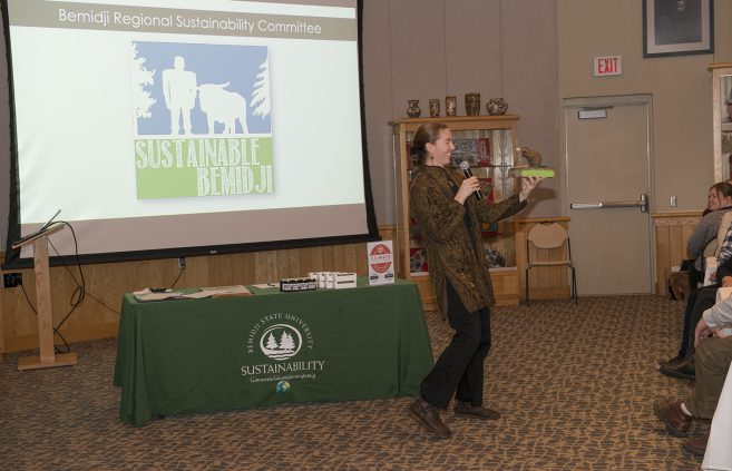 Erika Bailey-Johnson, sustainability coordinator, explains BSU's approach to sustainability.