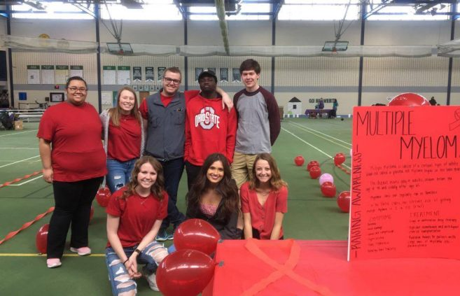 The Bemidji State University Relay for Life team partnered with fellow student organizations to hold the annual event.