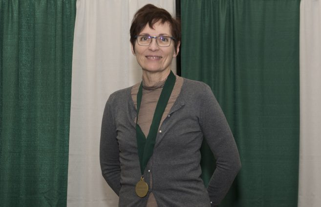 Dr. Linda Colburn, associate professor of professional education, 5 years