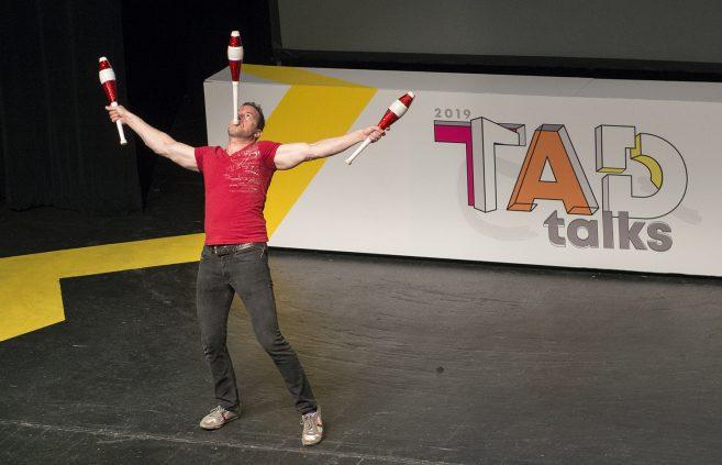Charles Peachock, America's Got Talent juggler.