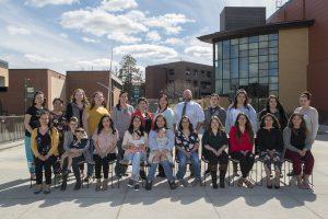 BSU's 2018-2019 Niganawenimaanaanig Program students and faculty