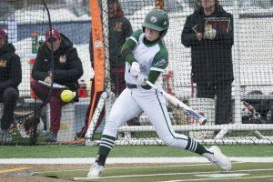BSU softball player Jessica Burlingame