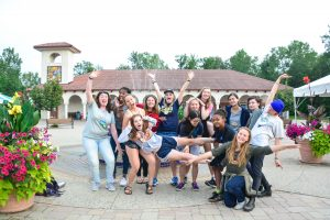 Spanish Campers at CLV