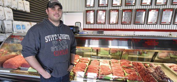 Mychal Stittsworth, owner of Stittsworth Meats
