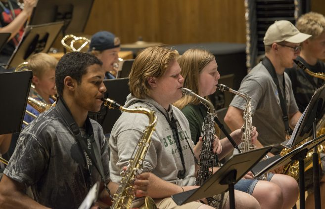 Music Camp Jazz Band