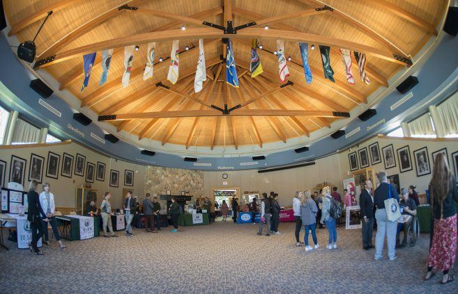 Attendees of the American Indian Resource Center's 12th annual Day of Welcome.