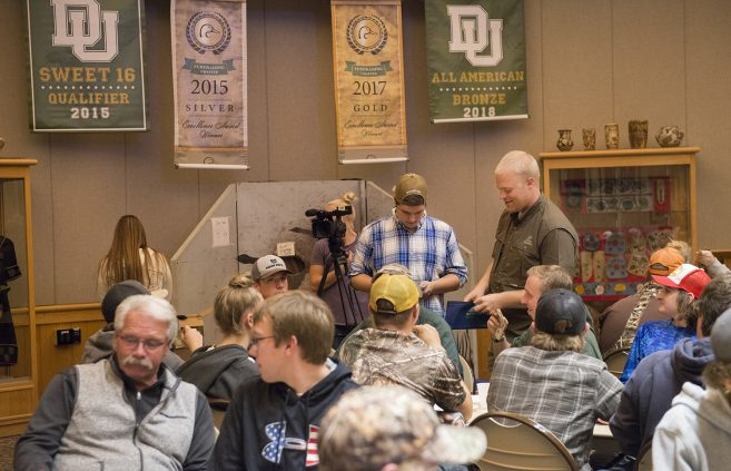 Attendees of the Ducks Unlimited Banquet.