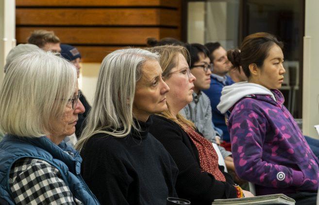 Audience members of the Leadership Studies Speaker Series.