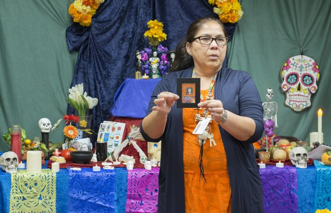 Dr. Miriam Rivera-Hokanson, associate professor of Spanish
