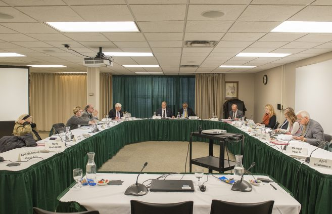 November Board of Trustees meeting held at Bemidji State.