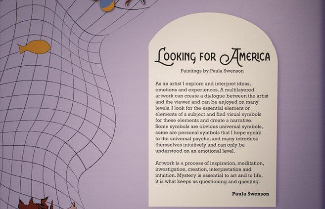 Paula Swenson's artist statement.