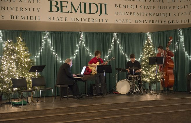 BSU Jazz Atavist performing