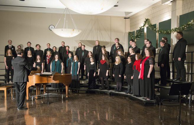 The Bemidji Choir performing