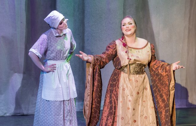 "Cinderella and the fairy Godmother - BSU 2020 Production of ""Cinderella"" by Rodgers & Hammerstein"