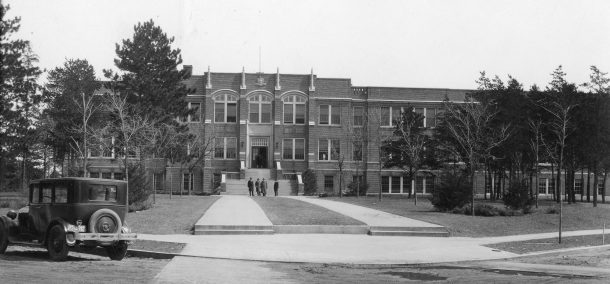 """The Main"" in 1920, which remains today as Deputy Hall."