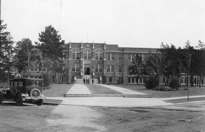 """""""The Main"""" in 1920, which remains today as Deputy Hall."""