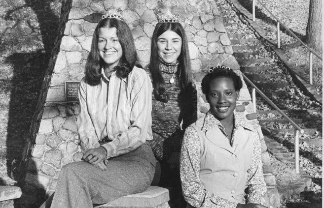 Homecoming royalty, 1970s.