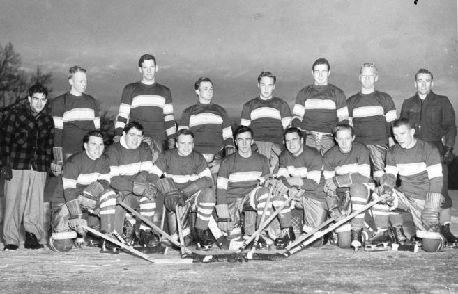 Bemidji State Teachers College started playing competitive hockey in the 1950s.