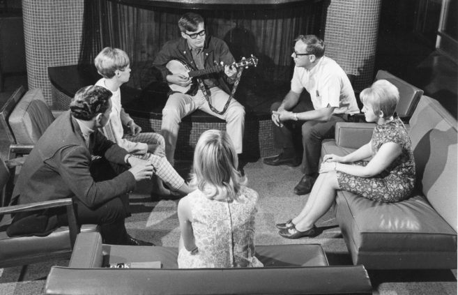 Pine Lounge, 1960s.