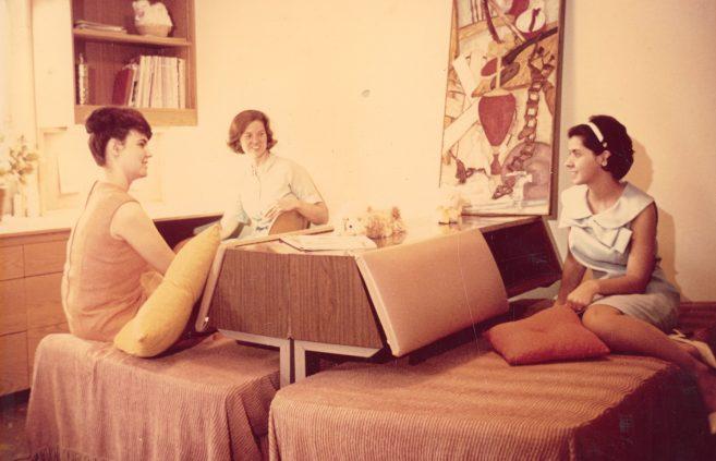 Dorm Life, 1970s.