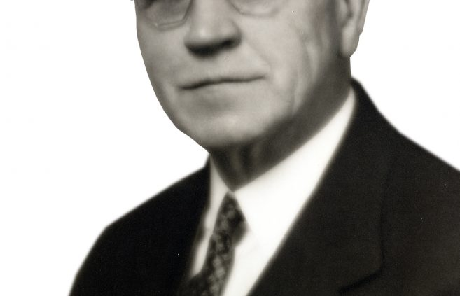 Manfred Deputy, BSU's first president.