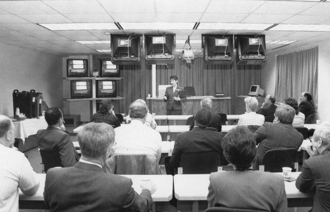Technology Smart Room, 1990s.