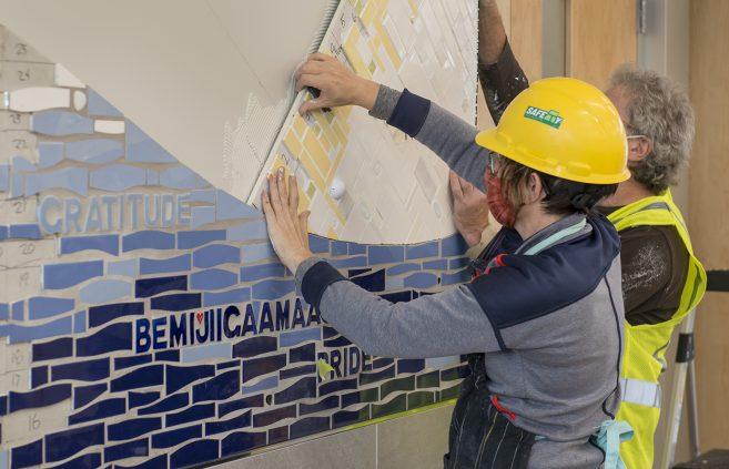 Mosaic Installation